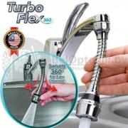 Гибкая насадка Аэратор на кран для экономии воды Turbo Flex 360